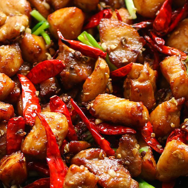 Special combination entrees w/ Szechuan chicken
