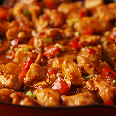 Special combination entrees w/ Kung Pao chicken