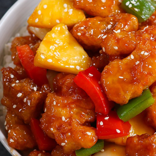 Special combination entrees w/ sweet and sour chicken