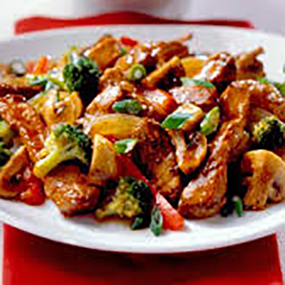 Special combination entrees w/ chicken or spicy chicken